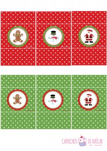 Chocolatinas navidad montaje logo
