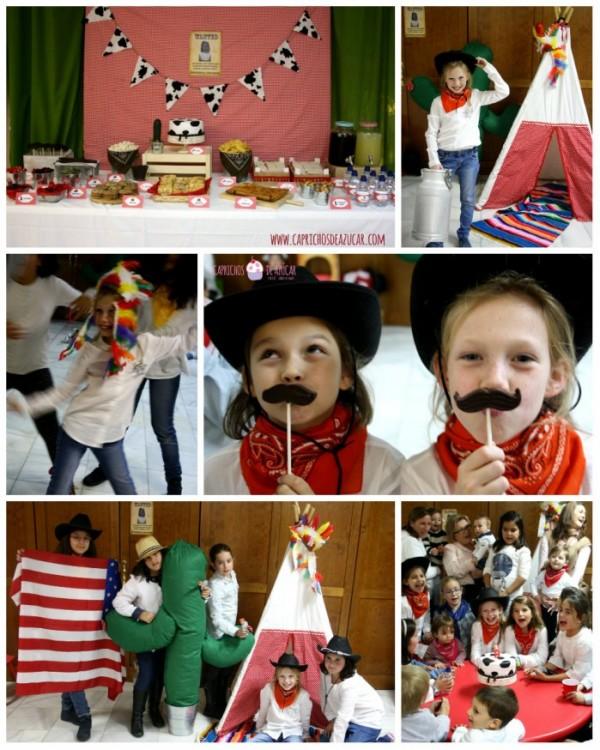 Dance party junior temátizada ¡¡Ya vienen los vaqueros!!